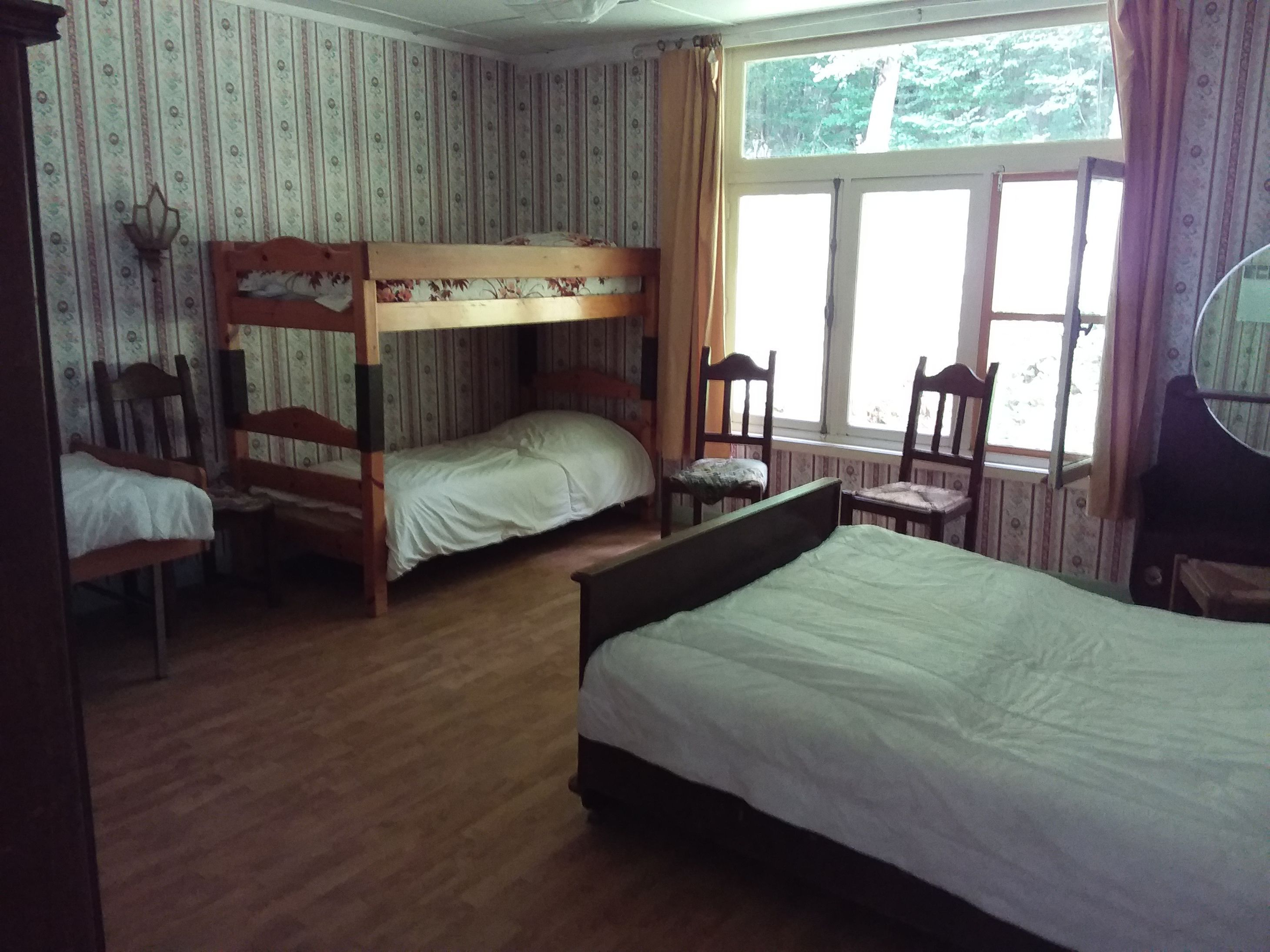 slaapkamer Paviljoen